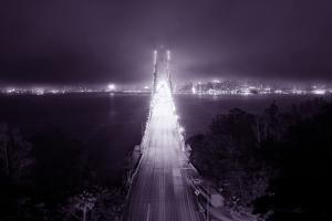 Night Glow Into Fog City, San Francisco by Vincent James