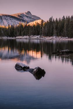 Peaceful Morning Reflection Yosemite Tioga Pass Tenaya Lake by Vincent James