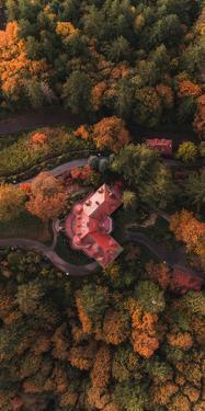 Pittock Mansion in Autumn, Portland, Oregon by Vincent James