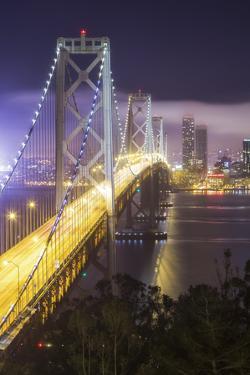 Road Into The City, San Francisco Bay Bridge by Vincent James