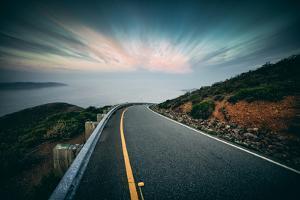Roadside Clouds, Marin Headlands, San Francisco by Vincent James