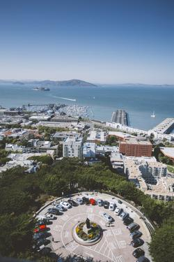 San Francisco View From Coit Tower by Vincent James