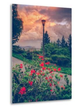 Spring Storm at Pittock Mansion, Portland Oregon by Vincent James