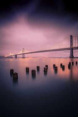 Still Waters Bay Bridge Embarcadero San Francisco by Vincent James