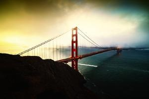 Stormy Sunday, Golden Gate Bridge, San Francisco by Vincent James