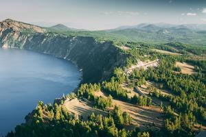 Summer Rim Shot, Southern Oregon, Crater Lake National Park by Vincent James