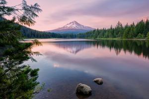 Summer Sunset at Mount Hood by Vincent James