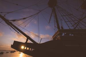 Sun Star at Mayflower, Plymouth Massachusetts by Vincent James