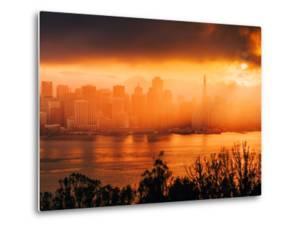 Sun Storm, San Francisco Bay by Vincent James