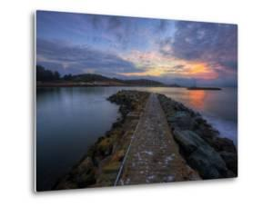 Sunrise Pier at Fort Baker, Sausalito California by Vincent James