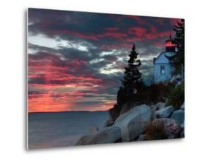 Sunset at Bass Harbor by Vincent James
