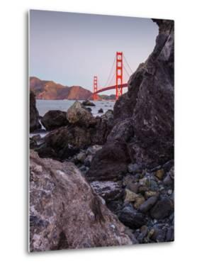 View From The Rocks , Golden Gate Bridge, San Francisco by Vincent James