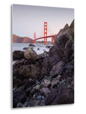 View From The Rocks II, Golden Gate Bridge, San Francisco by Vincent James