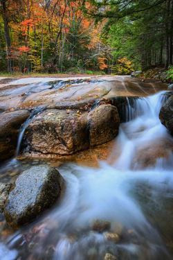 White Mountain Flow, Autumn New Hampshire, New England by Vincent James