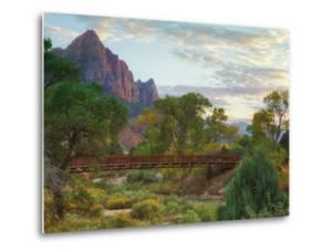 Zion Canyon Bridge by Vincent James