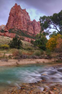 Zion Morning Riverside by Vincent James