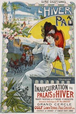 L'Hiver a Pau Poster by Vincent Lorant-Heilbronn