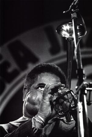 Dizzy Gillespie by Vincent Mentzel