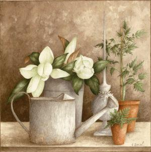 Arrosoir et Fleurs by Vincent Perriol