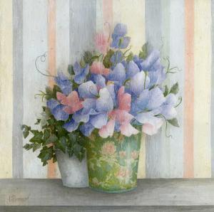 Pot Fleurs Bleues by Vincent Perriol