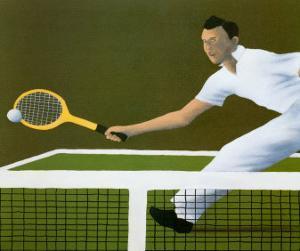 Wimbledon, 1936 by Vincent Scilla