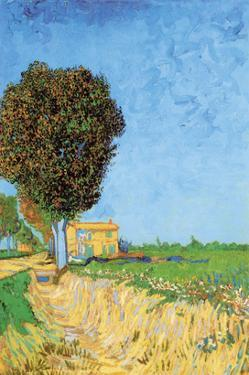 A Lane Near Arles by Vincent van Gogh
