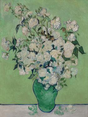 A Vase of Roses, 1890 by Vincent van Gogh