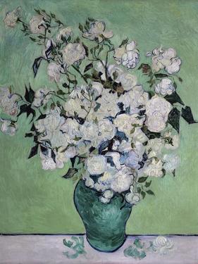 A Vase of Roses, c.1890 by Vincent van Gogh