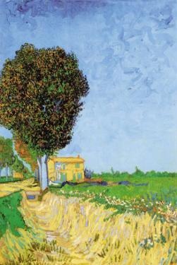 Alane Near Arles by Vincent van Gogh