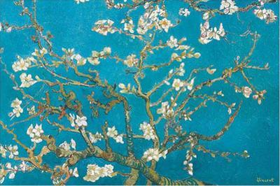Almond Blossoms, 1890 by Vincent van Gogh