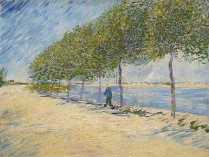 Along the Seine, 1887 by Vincent van Gogh