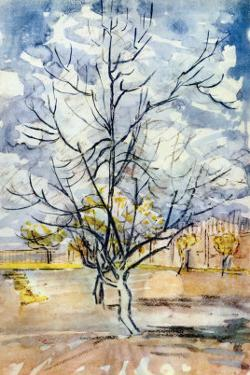 An Orchard by Vincent van Gogh