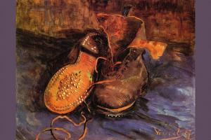 Apair of Shoes by Vincent van Gogh