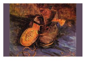 Apair of Shoes by Vincent van Gogh