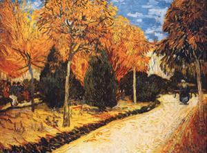 Autumn Garden by Vincent van Gogh