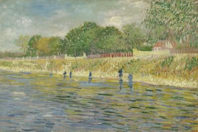 Bank of the Seine, 1887 by Vincent van Gogh