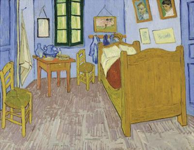 Bedroom at Arles, 1889-90 by Vincent van Gogh