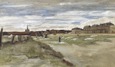 Bleachery at Scheveningen, 1882