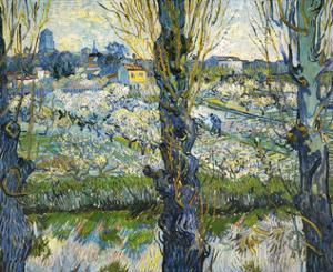 Blick auf Arles, c.1889 by Vincent van Gogh
