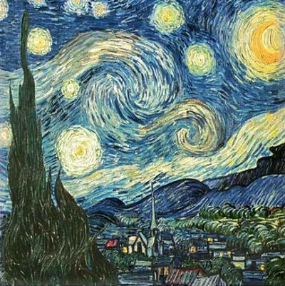 Blue Sky by Vincent van Gogh