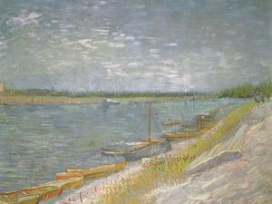 Boats Beached Ashore, 1887 by Vincent van Gogh