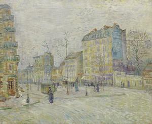 Boulevard de Clichy, 1887 by Vincent van Gogh
