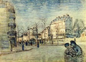 Boulevard de Clichy by Vincent van Gogh