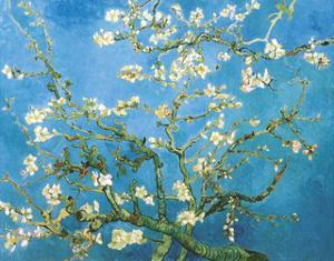 Branches of an Almond Tree in Bloom, 1890 by Vincent van Gogh
