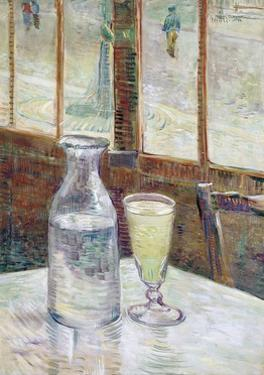 Caf' Table with Absinthe by Vincent van Gogh