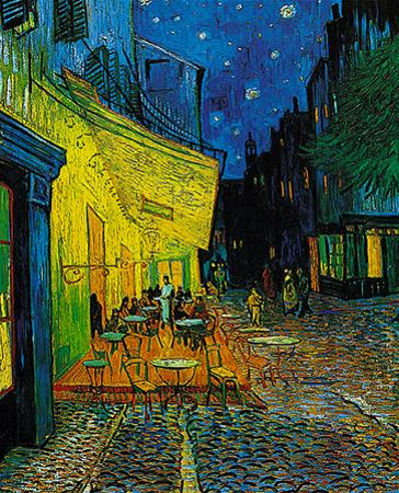 Cafe at Arles, c.1889 by Vincent van Gogh