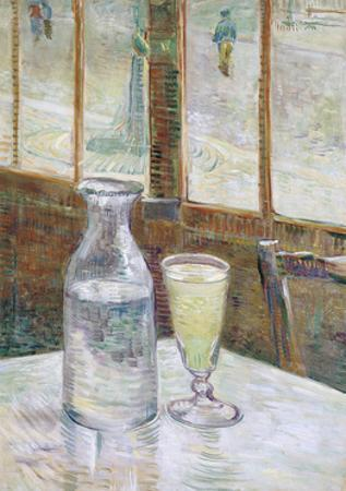 Café Table with Absinth, 1887 by Vincent van Gogh