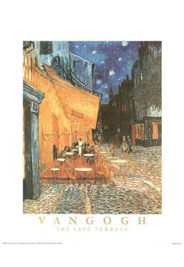 Vincent Van Gogh Cafe Terrace Art Print POSTER quality
