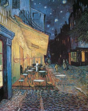 Cafe Terrace on Place du Forum Arles by Vincent van Gogh