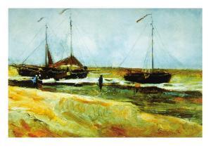 Calm Weather by Vincent van Gogh